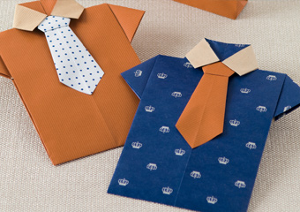 Shirt And Tie Envelope